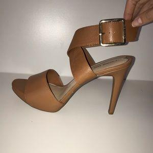 GIANNI BINI camel sandal